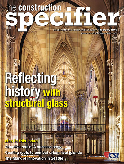 The Construction Specifier February 2019