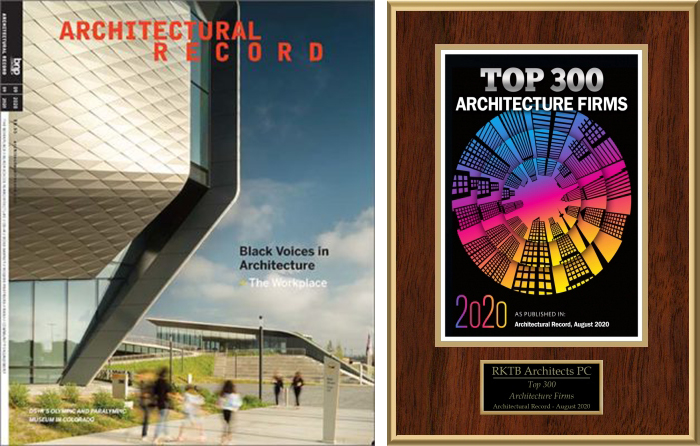 Architectural Record Top 300 Firms of 2020